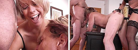Forced Bi femdom